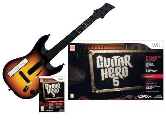 Guitar Hero 5 Guitar Bundle