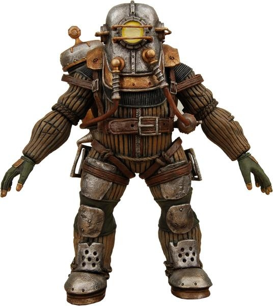 Bioshock Big Daddy Rosie Deluxe Edition Figure
